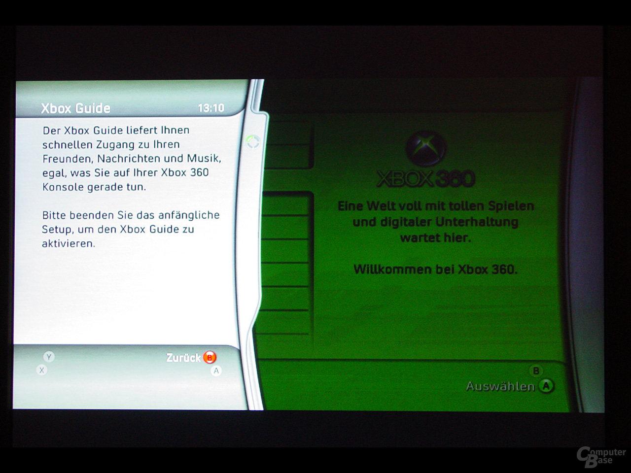 Benutzeroberfläche - Xbox Guide Button