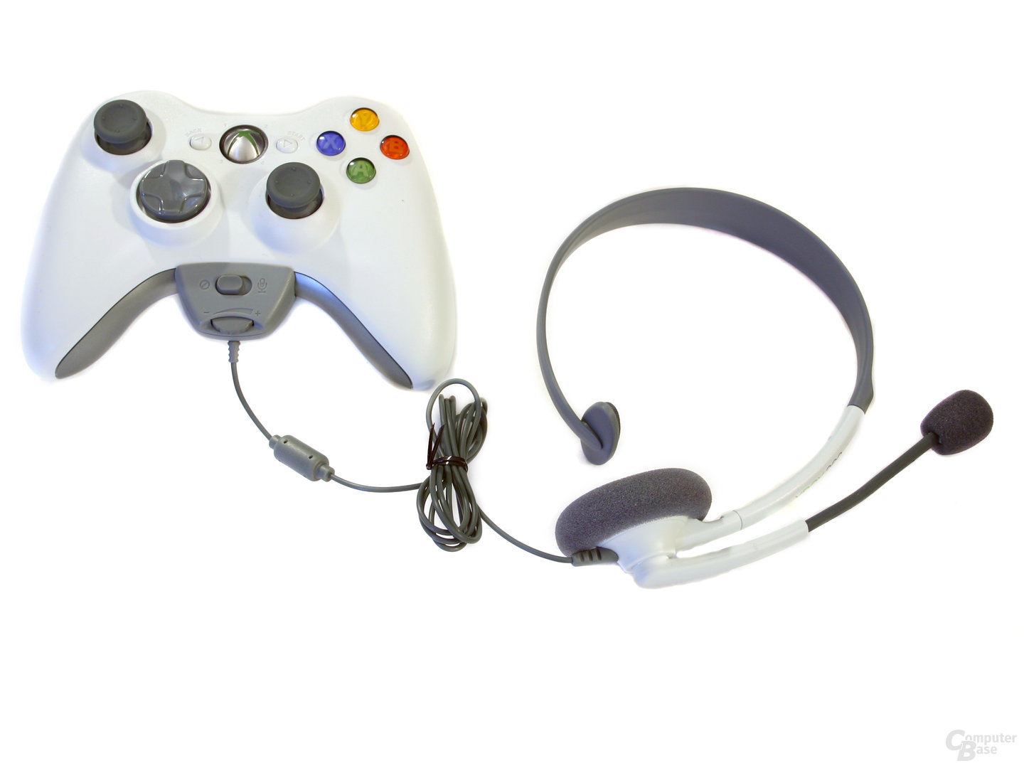 Xbox 360 Wireless Controller mit Headset