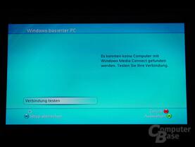 Benutzeroberfläche - Musik vom PC