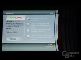Benutzeroberfläche - Xbox Live beitreten