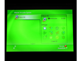 Benutzeroberfläche - Arcade-Spiele