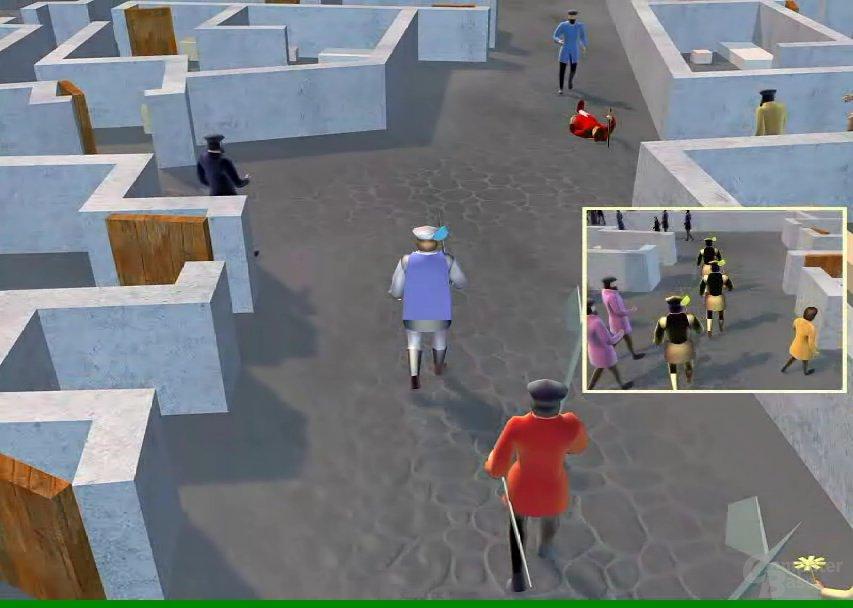 AIseek Demo-Video Simulated City 2