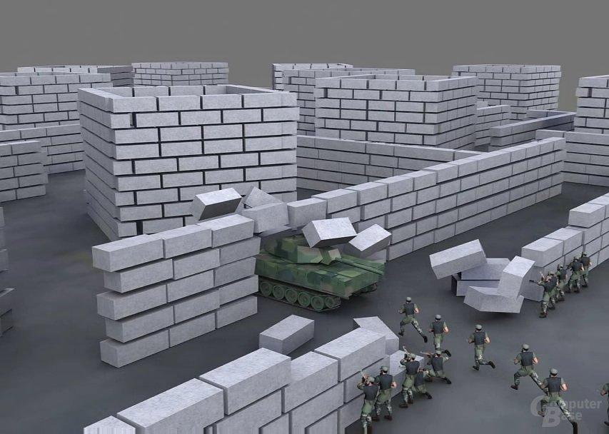 AIseek Demo-Video Tank Battle 1-3