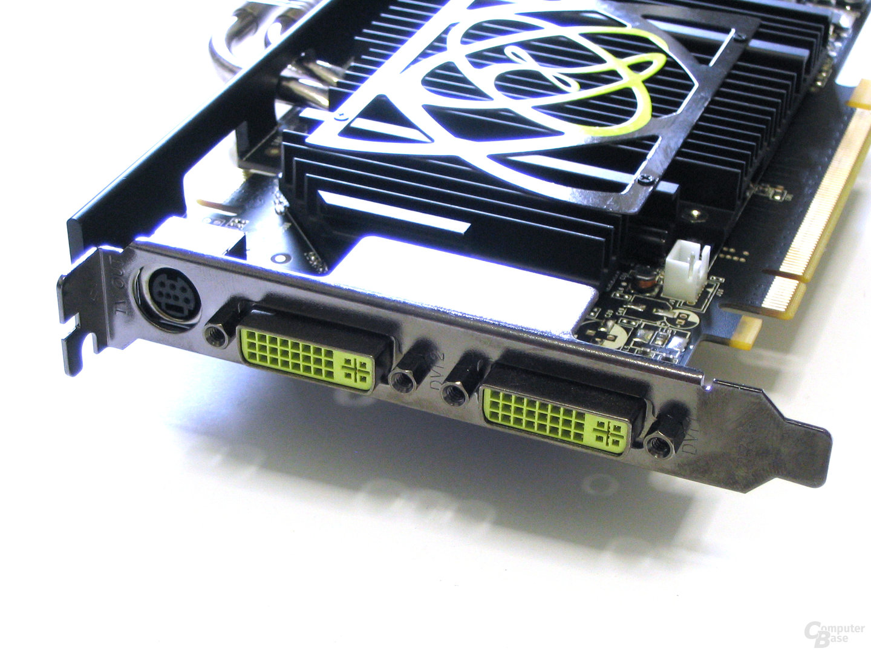 XFX GeForce 7950 GT Slotblech