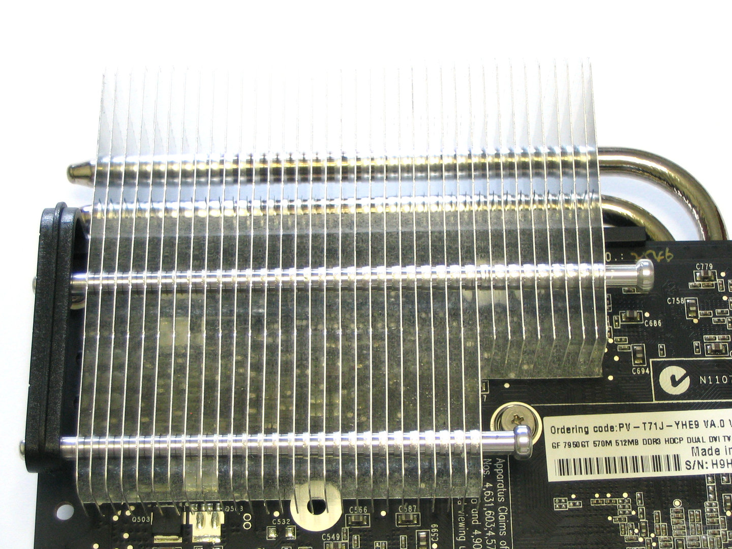 XFX GeForce 7950 GT Heatpipe
