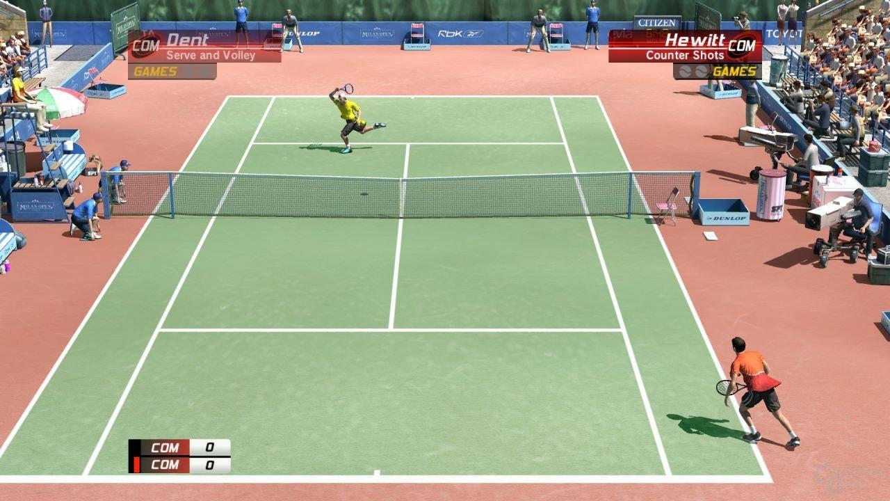 Virtua Tennis 3 für Xbox 360 und PlayStation 3 von Sega