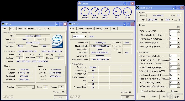 Dominator @ 800 MHz