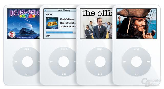 Neuer iPod von Apple mit hellerem Display und längerer Akkulaufzeit