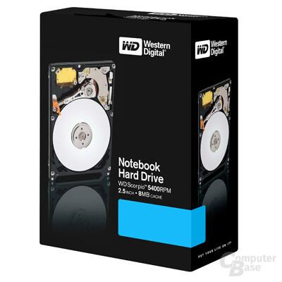 WD Scorpio 160 GB Verpackung