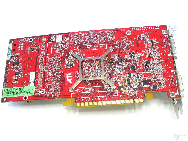 Radeon X1900 XT Rueckseite