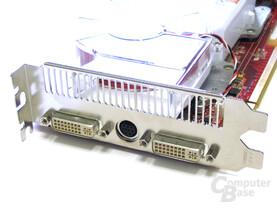 Radeon X1900 XT Slotblech