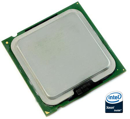 "Intel ""Clovertown"" 
