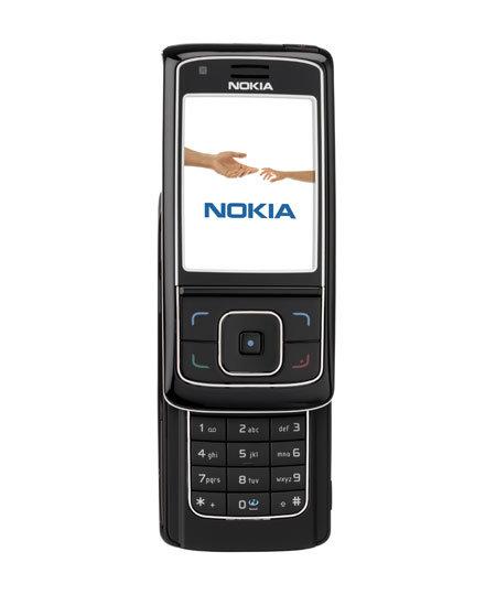 Nokia 6288 in schwarz