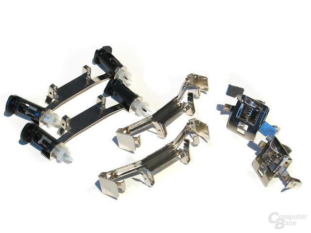 """Versatile Tool-free Multiplattform System"" - Clips für alle Sockel"