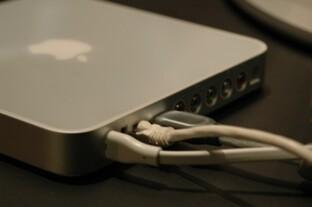 Apple iTV - Anschlussleiste