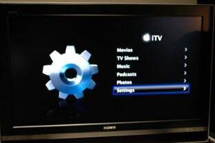 Apple iTV - Benutzeroberfläche