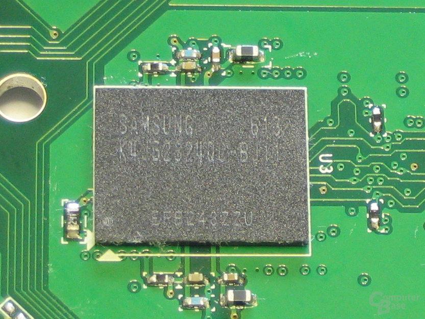 Samsung GDDR3-RAM 1,1 ns
