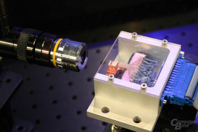 Hybrid-Silizium-Laser