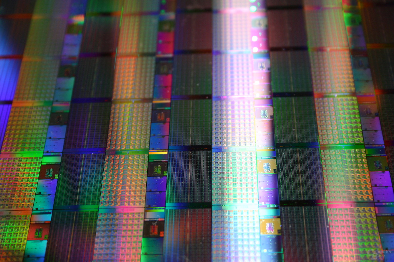 Wafer mit 80-Core-Chips