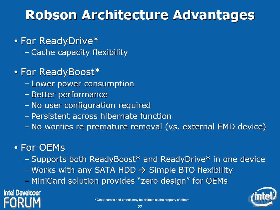 """Intels """"Santa Rosa""""-Plattform – Robson Technologie"""