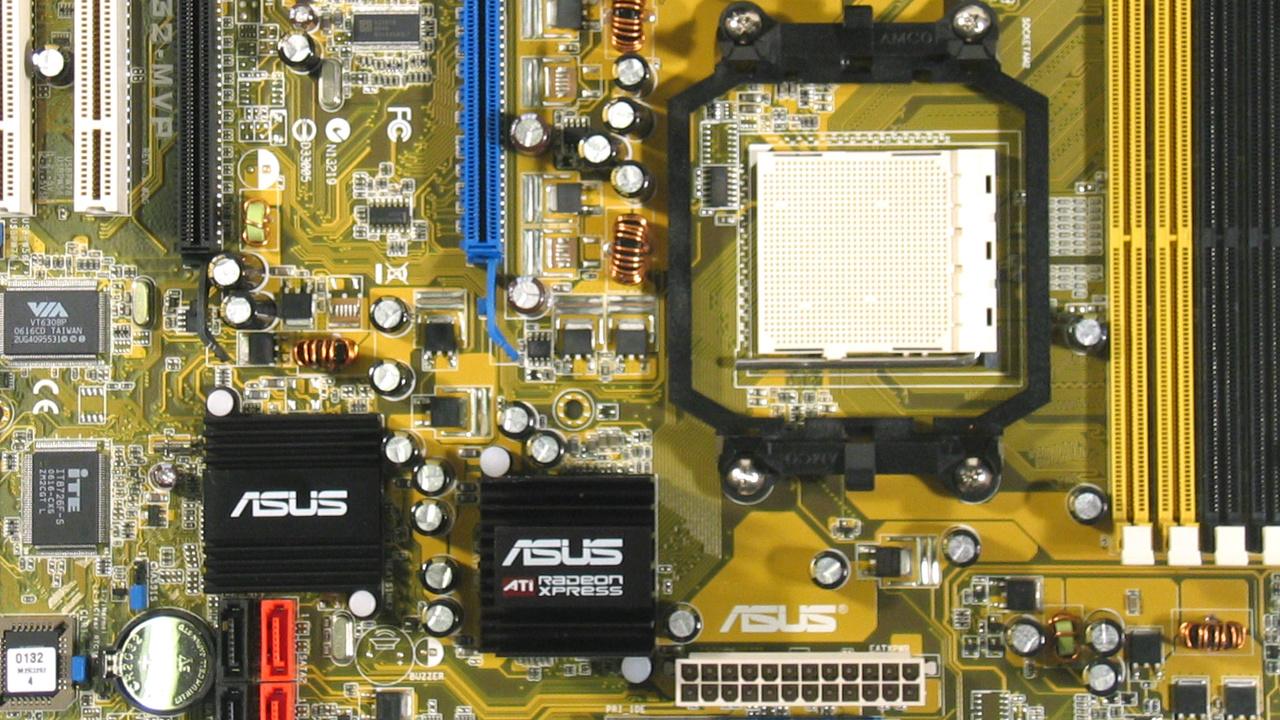 Asus M2R32-MVP im Test: AM2 mit ATis Xpress 3200