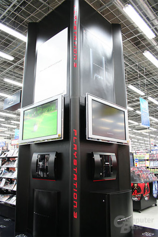 PS3-Demokiosk - Bildquelle: engadget.com