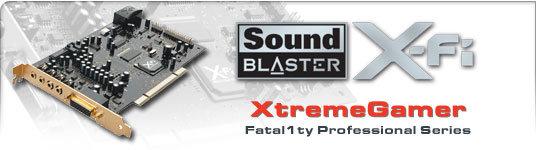 X-Fi Xtreme Gamer Fatal1ty Professional Series