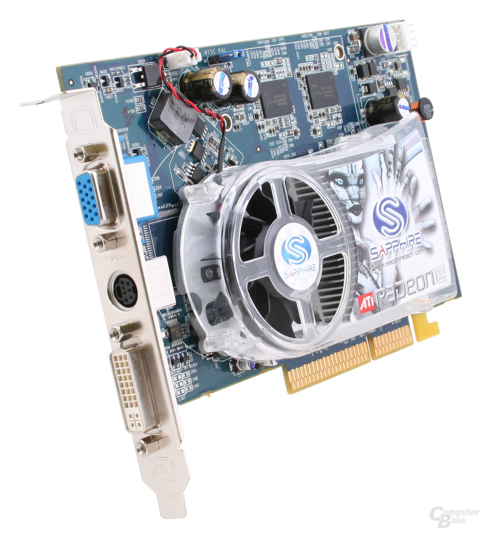 ATi Radeon X1650 Pro mit 256 MB GDDR3