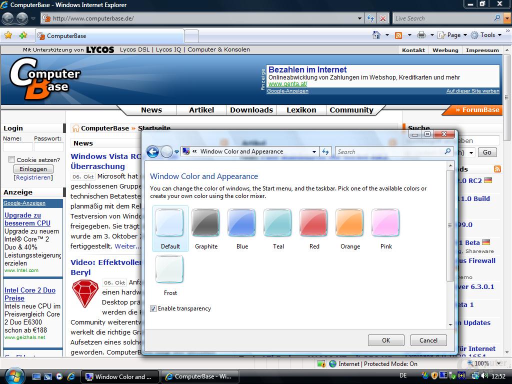 Windows Vista RC2 eng - Fullscreen