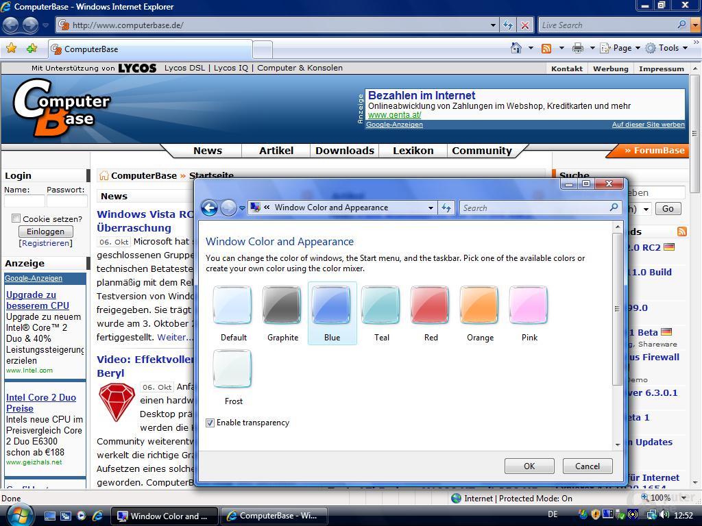 Windows Vista RC2 eng - Fullscreen 2