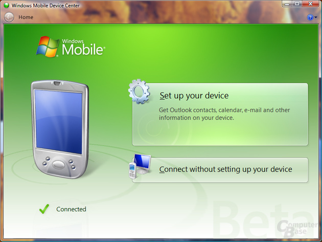 Mobile Device Center