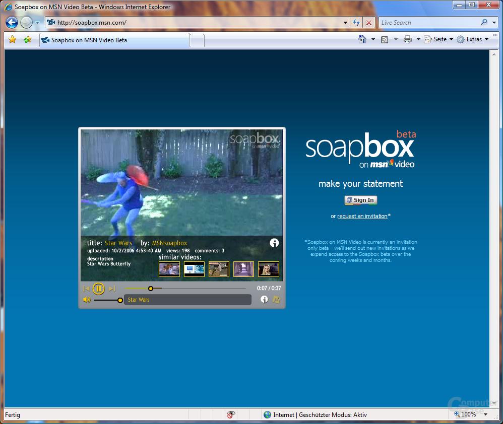 Microsoft MSN Soapbox - 11.10.2006