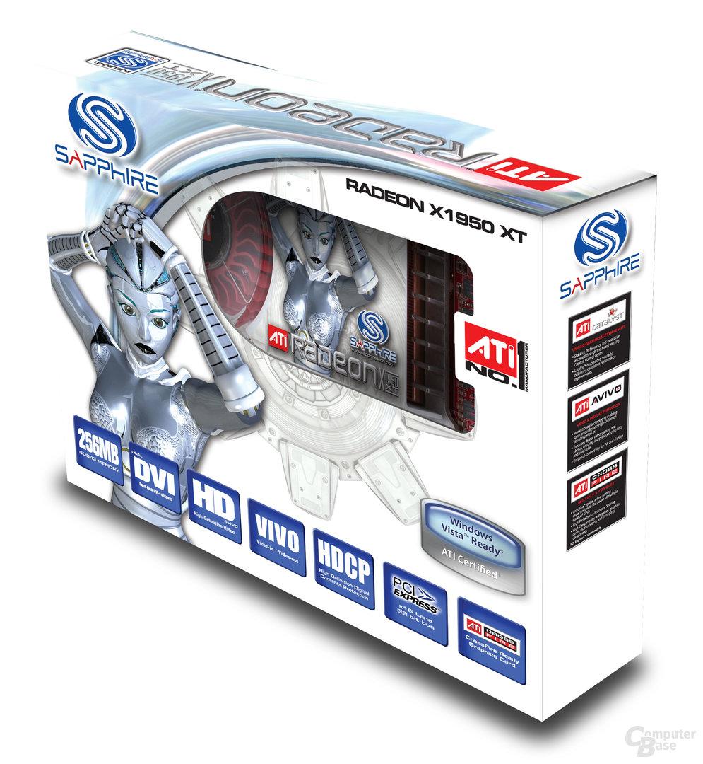Sapphire ATi Radeon X1950 XT 256 MB