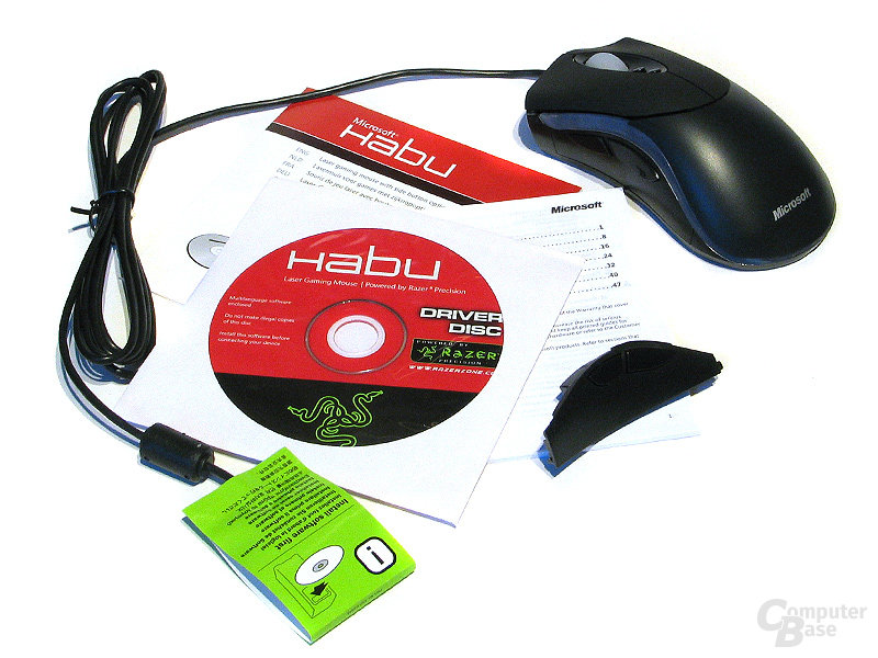 Microsoft Habu Lieferumfang