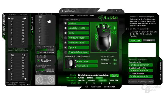 Microsoft Habu: Treibersoftware aus dem Hause Razer