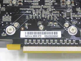 Asus EN8800GTX Aufkleber