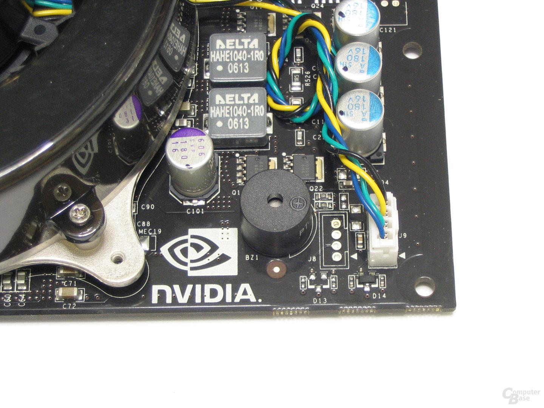 GeForce 8800 GTX Buzzer