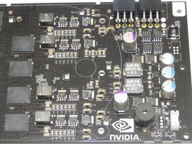 GeForce 8800 GTX Kartenende