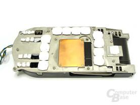 GeForce 8800 GTX Kühlerrückseite