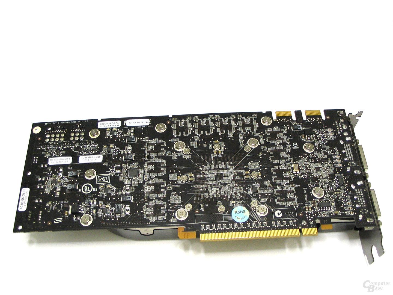GeForce 8800 GTX Rückseite