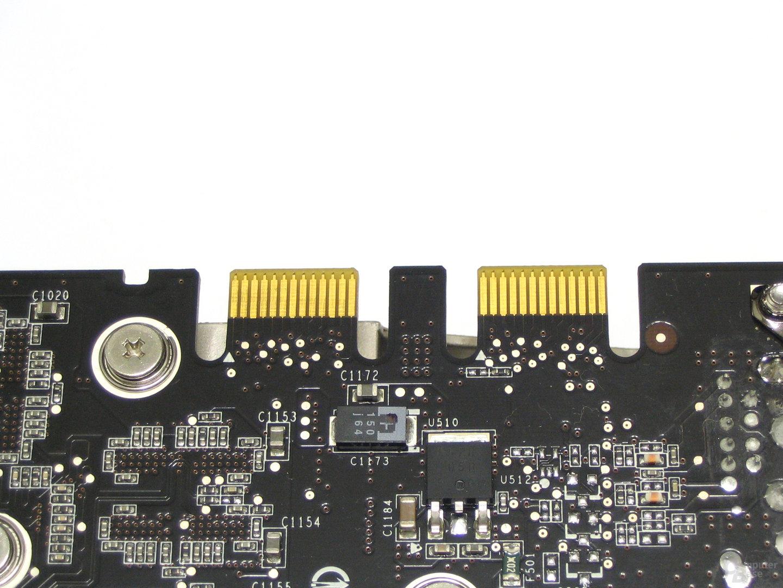 GeForce 8800 GTX SLI-Anschlüsse