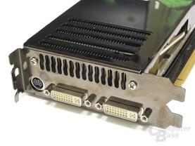 GeForce 8800 GTX Slotblech
