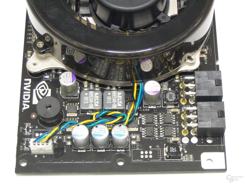 GeForce 8800 GTX Spannungswandler