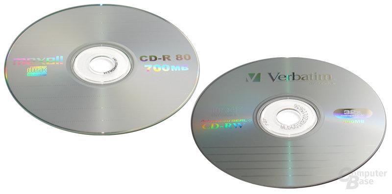 Maxell CD-R & Verbatim CD-RW