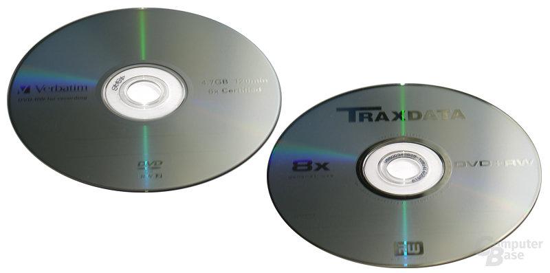 Verbatim DVD-RW & Traxdata DVD+RW