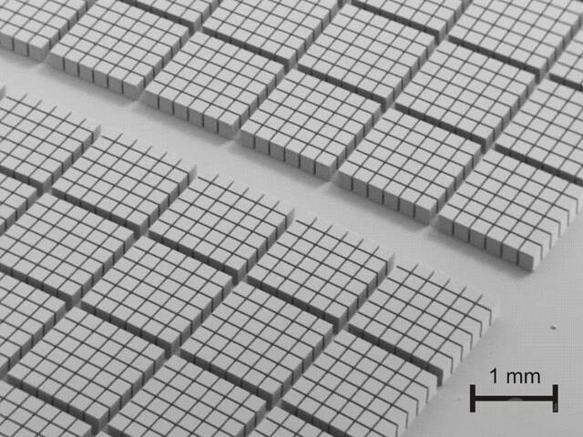 ImaHigh Thermal Conductivity Interface Technology (HCTI) - Besondere Oberfläche der Heat-Spreader-Rückseite (Detailaufnahme)
