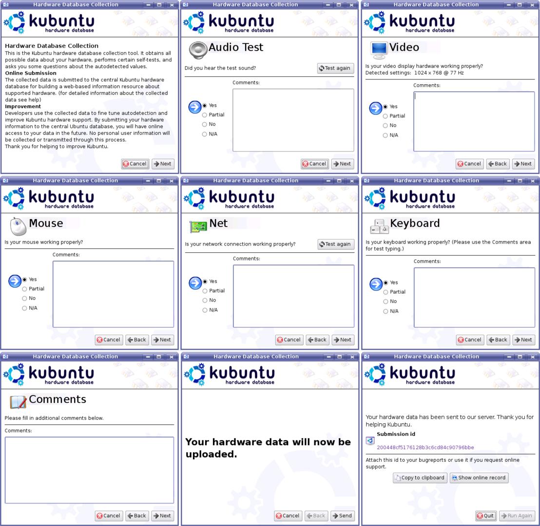 Kubuntu 6.10 - Hardware-Datenbank