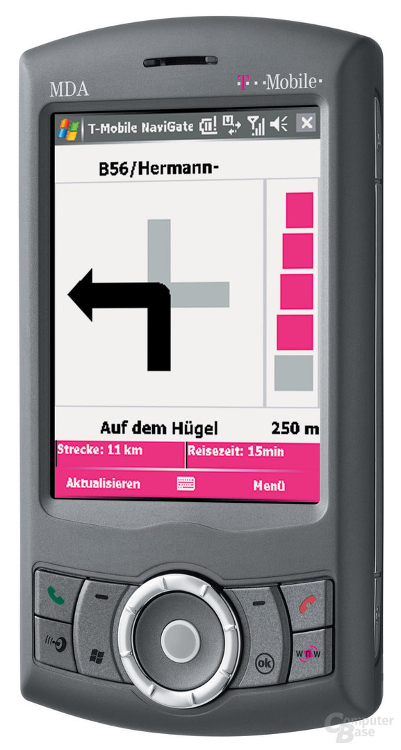 T-Mobile MDA compact III mit integriertem GPS-Modul