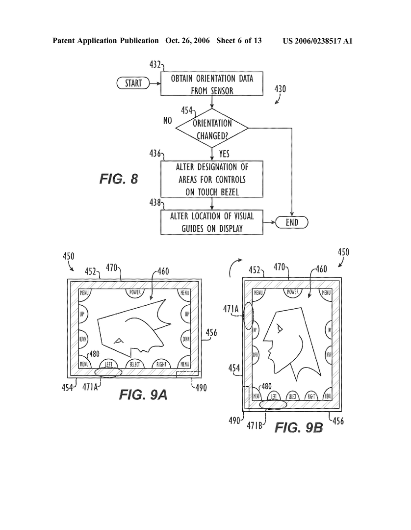 Apple Patent-Skizze