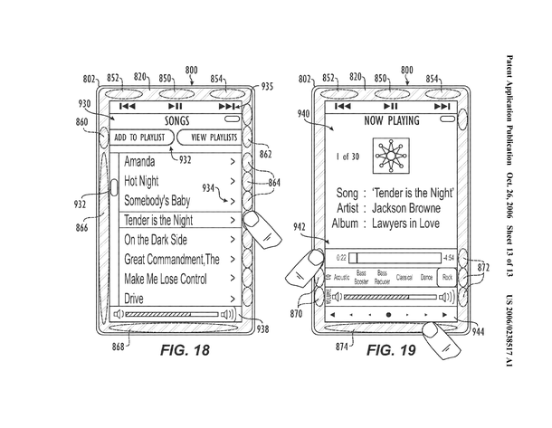 Apple Patent-Skizze